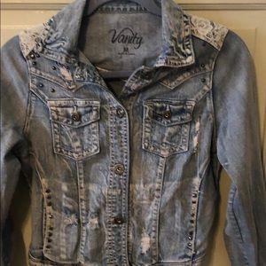 Vanity jean jacket
